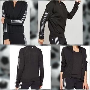 Adidas Knit Bomber Jacket Size L